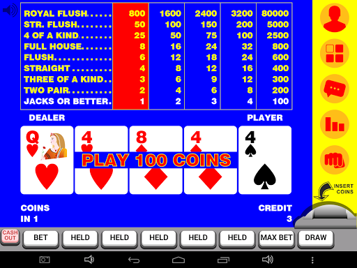 Video Poker 11 11.085 screenshots 4