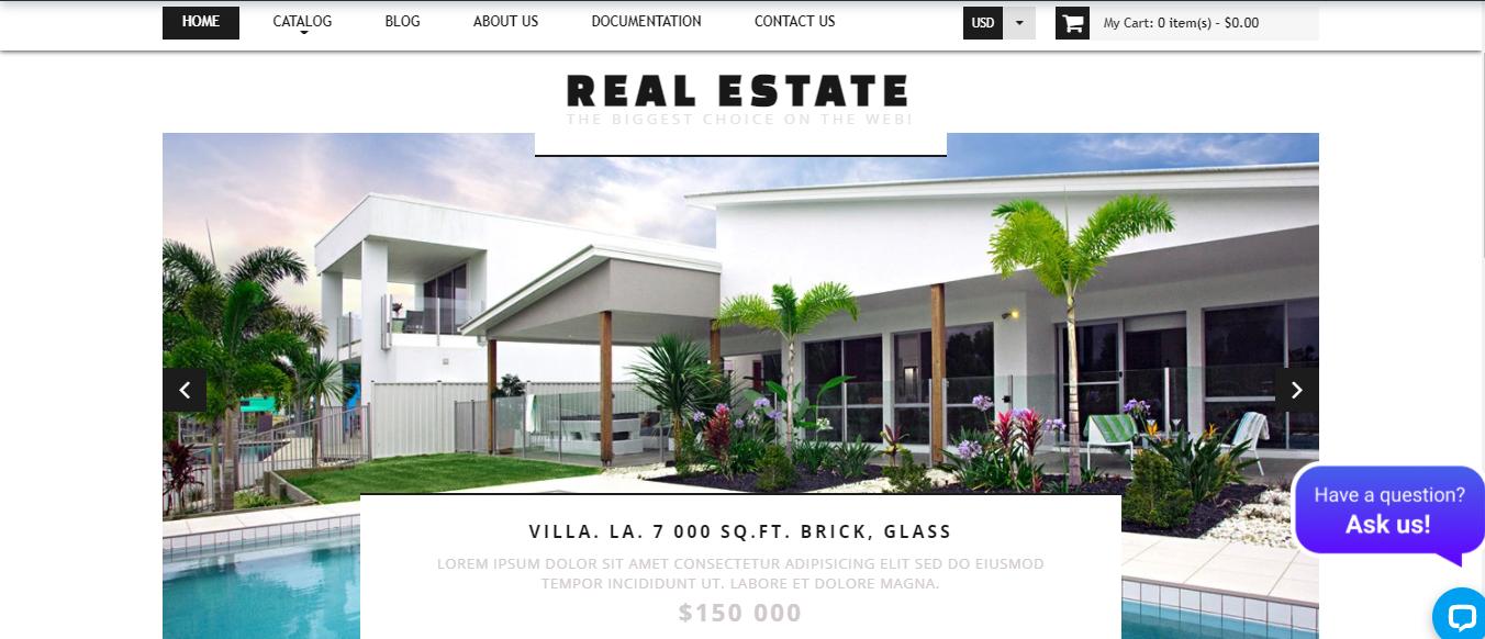 Real Estate - Shopify real estate theme