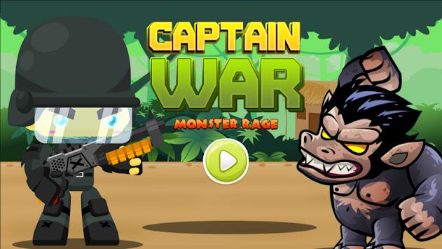 Captain War Monster Rage 2018 apk screenshot