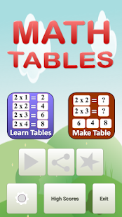 Download Math Tables For PC Windows and Mac apk screenshot 1