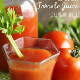 Drinks With Tomato Juice Recipes.