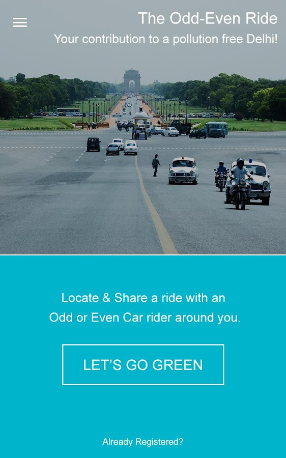 Odd Even Ride- screenshot