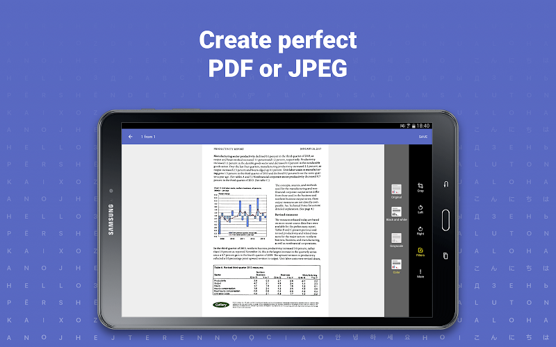 FineScanner AI Pro-PDF Document Scanner App + OCR Screenshot 9