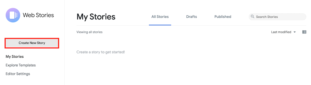 create Web Stories WordPress