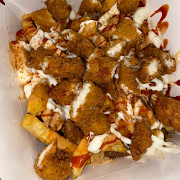 Fried Chicken Loaded Cajun Fries