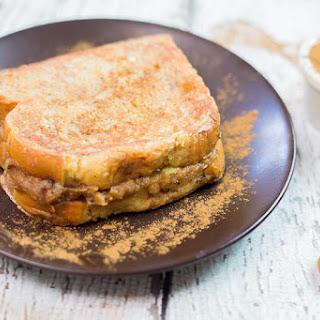 Peanut Butter Banana Stuffed French Toast.