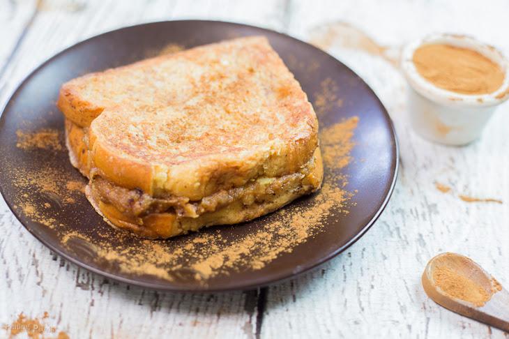 Peanut Butter Banana Stuffed French Toast Recipe | Yummly