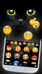 Black Cat Keyboard Theme