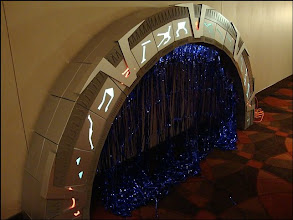 Photo: Stargate Prop! TO SCALE!