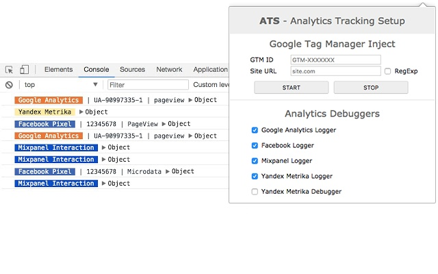 ATS - Analytics Tracking Setup