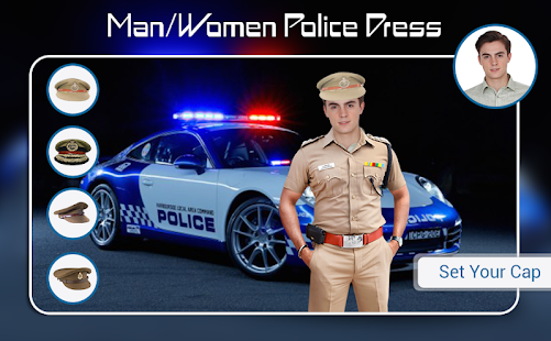 Download Police Photo Suit : Men - Women Police Dress For PC Windows and Mac apk screenshot 4