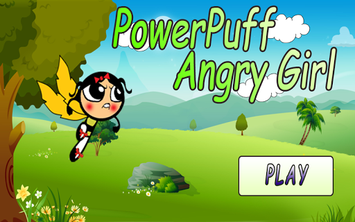 PowerPuff angry Girl