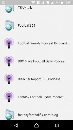 English Football Fantasy  screenshots 7