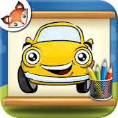 How to Draw Cartoon Cars  Step by Step Drawing App