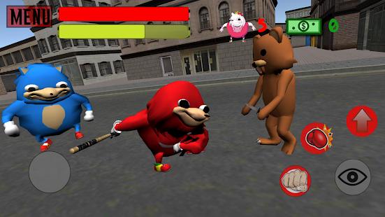 Ugandan Knuckles Simulator. Meme Salvation 3D