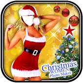 Christmas Women Photo Maker
