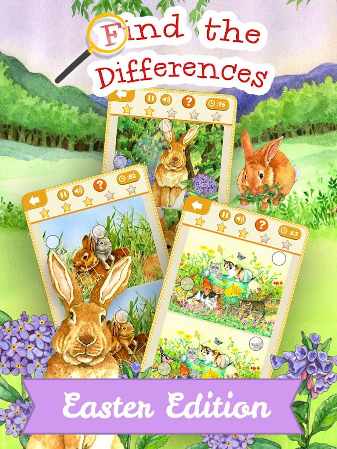 Find the Differences Easter- screenshot