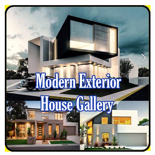 현대 외관 하우스 갤러리