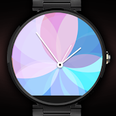 Analog Watch Face - Floral