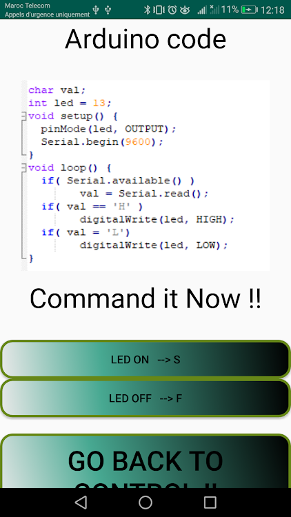 Arduino Bluetooth controller & Tutorials – (Android Apps