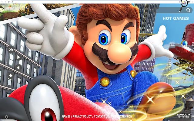 Super Mario VS Sonic Wallpapers New Tab