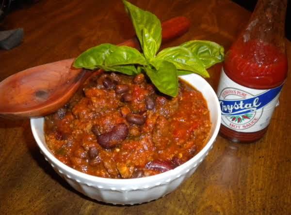 Crockpot Gameday Moose Chili Recipe