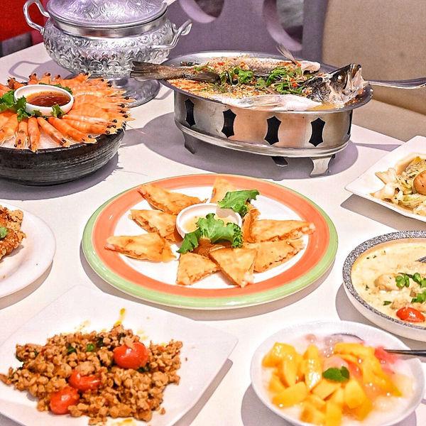 甜品深得我心、隱身家樂福的泰式料理【Papaya泰】多人聚餐越划算