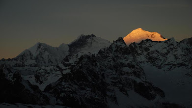 Photo: Kharta Valley, the magnificent Kangshung Face of Everest at sunrise