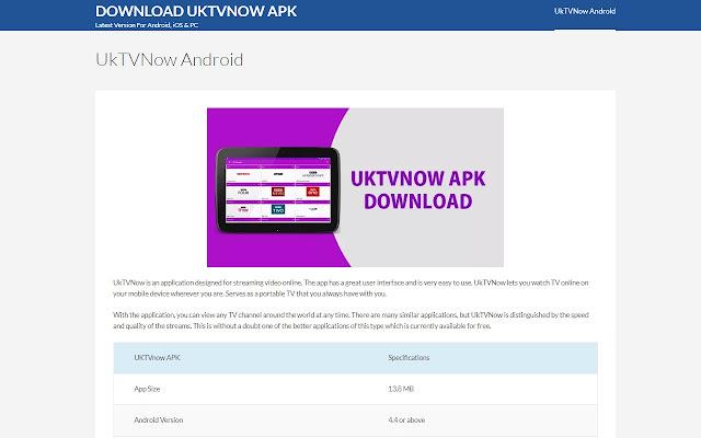 uk tv now apk free download