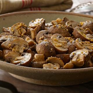 Buttery Grilled Mushroom Bundles.