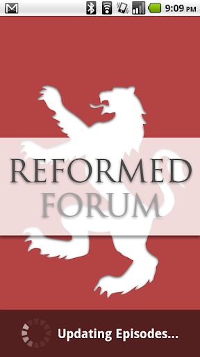Reformed Forum