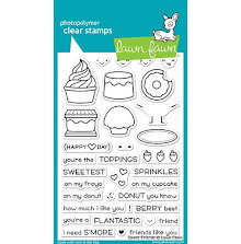 Lawn Fawn Clear Stamps 4X6 - Sweet Friends