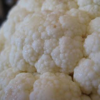 Cauliflower Mash.