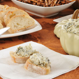 Super Bowl Hot Artichoke and Broccoli Dip
