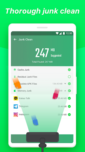 Super Junk Cleaner - Antivirus & Booster & Cleaner - screenshot