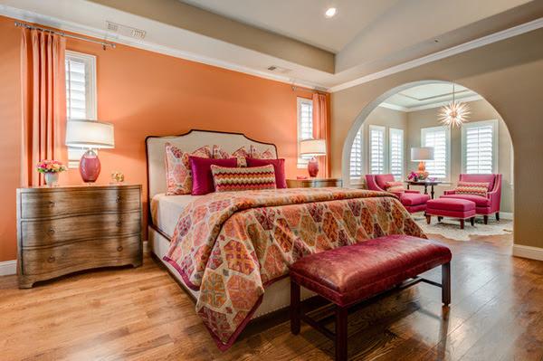 5 tông màu thiết kế cho phòng ngủ lãng mạn 2