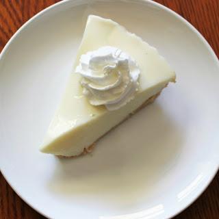 Lemon Ice Box Pie.