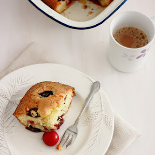Cherry Cake With Fresh Cherries Recipes.