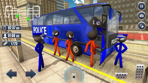 Prison Stickman Transport Police Van ss2