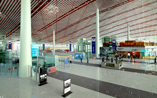 Airport VR Sphere 360°