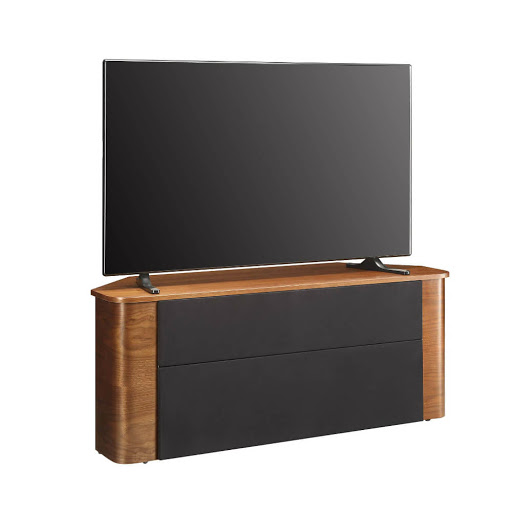 Jual JF708 Walnut Acoustic TV Stand