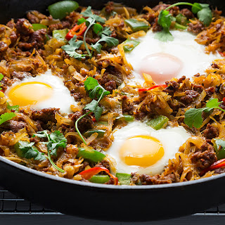 Chorizo Hash and Eggs Recipe