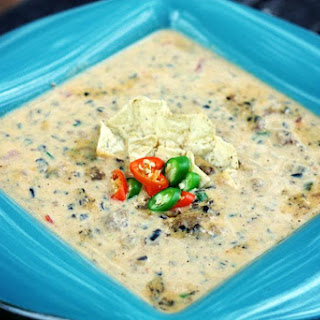 Spicy Sausage Queso