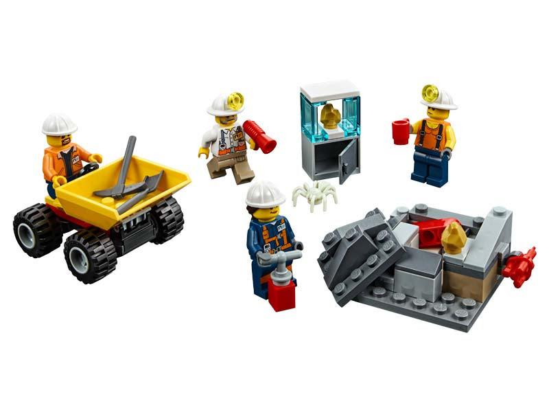 Contenido de Lego® 60184 Mina: Equipo
