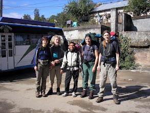 Photo: Jalgsiosa alguses: Marika, Peeter, Lhakpa, Reet, Raivo