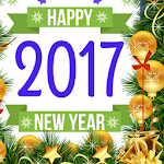 2017 New Year Photo Frames Icon