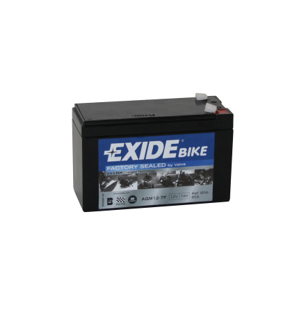 Tudor Exide AGM batteri 12V/7Ah