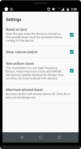 Volume Booster GOODEV 6.7 Screenshots 4