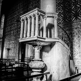 Church Marvila by Zulmira Relvas - Black & White Buildings & Architecture (  )
