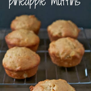 Pineapple Muffins.